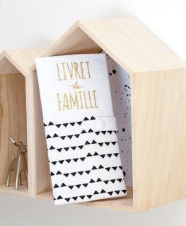 Protège livret de famille Imagine (housse) personnalisable