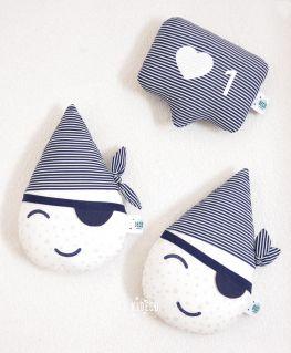 Doudou Mini Goutte Pirate et Doudou IG like SAILOR