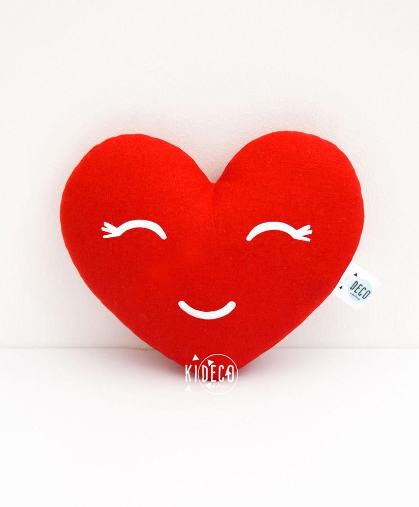 Doudou Amourette en forme de coeur