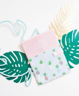 Protège carnet de santé Enjoy Pineapple personnalisé ELOA