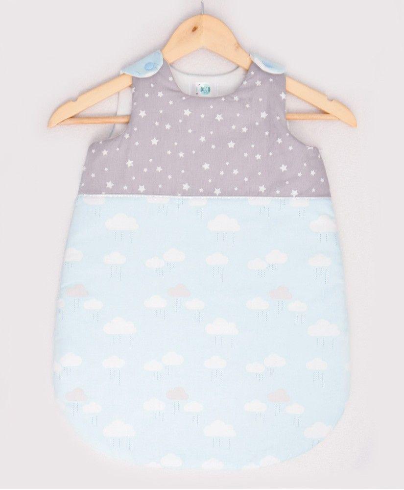 Gigoteuse Happy Cloud bleu (étoile et nuages)